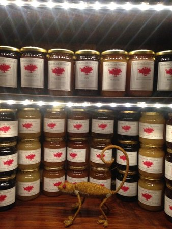 Quercia Rossa Farmhouse: Les produits locaux