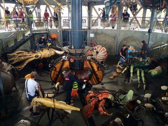 Les Machines de L'ile : intérieur carrousel 2