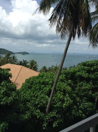 Cape Panwa Hotel : view from balcony