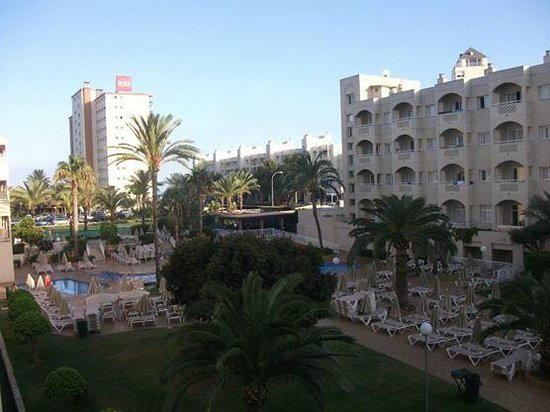 ClubHotel Riu Costa del Sol: View from our balcony
