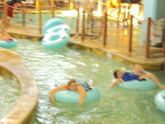 Canad Inns Destination Center Grand Forks: down the lazy river