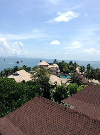 Cape Panwa Hotel: the main building from the Junior Suites