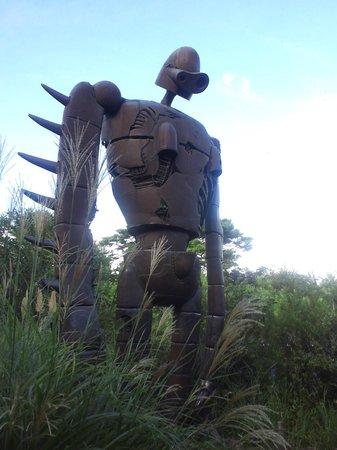 Musée Ghibli : 屋上にはロボット兵