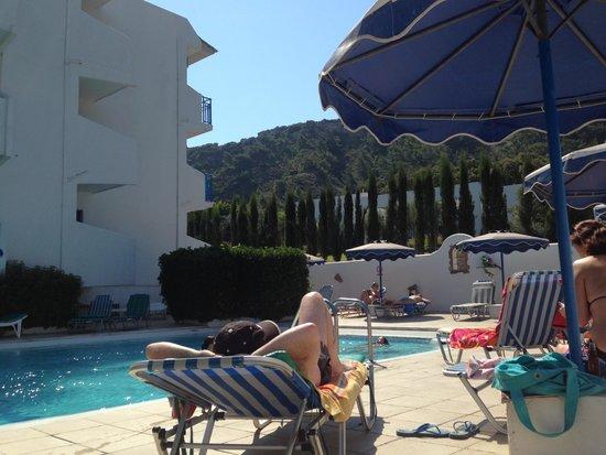Nathalie Hotel : Pool area