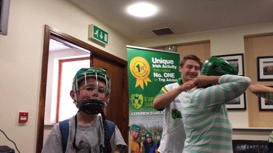 Experience Gaelic Games : Hurling helmets!