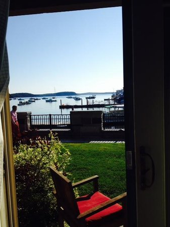 Harborside Hotel & Marina: View from out patio