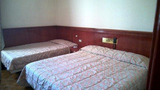 Grand Hotel Europa: la camera