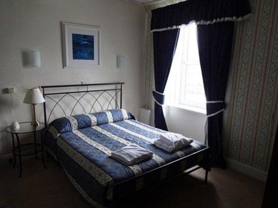 Balmacara Hotel : ベッド