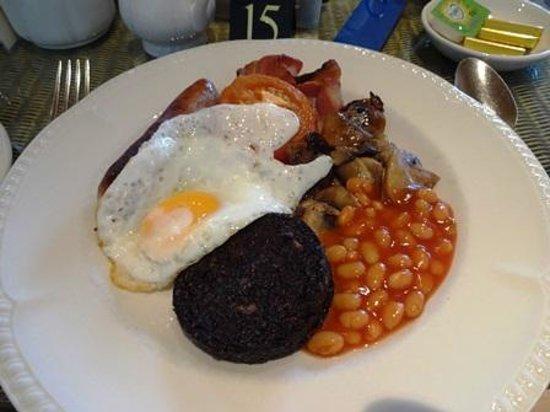 Balmacara Hotel: 朝食(Scottish Highland Breakfast)