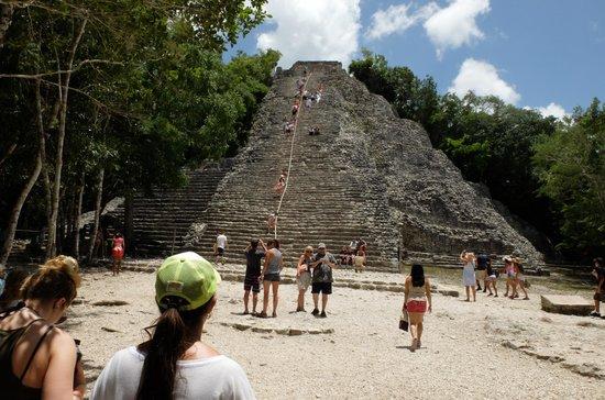 Ruinas de Coba: Die Pyramide von Coba