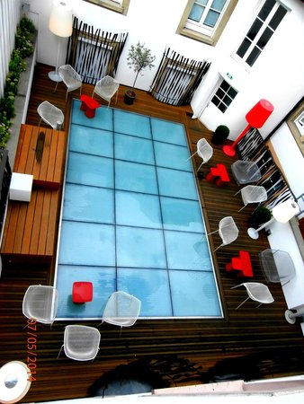 Hotel Hannong: vue de la chambre