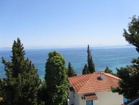 Corfu Village Hotel : Aussicht vom Balkon