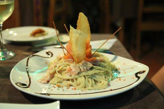 Restaurant Samara Pacific Lodge : Danie główne