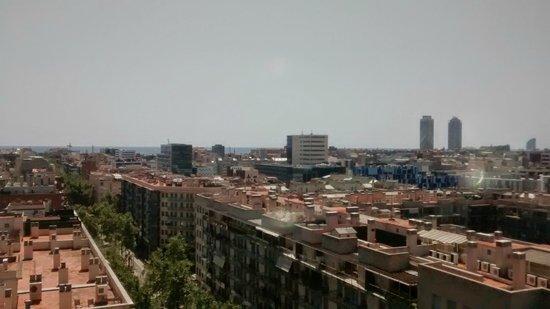 Four Points by Sheraton Barcelona Diagonal: vista desde el octavo piso