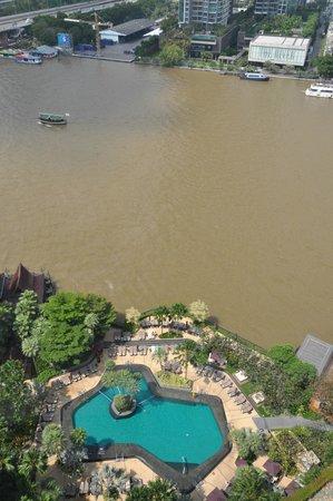 Shangri-La Hotel,Bangkok: River view from room