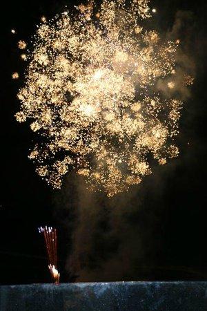 W Bali - Seminyak : fireworks on Saturday Night
