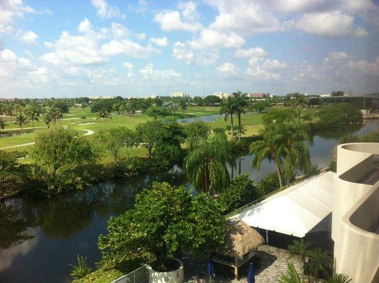 Sheraton Miami Airport Hotel: Bela vista do campo de golfe