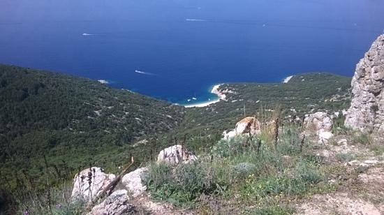 Остров Црес, Хорватия: vista dal parcheggio