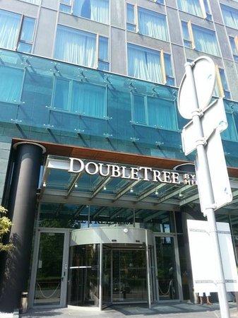 DoubleTree by Hilton Hotel Zagreb: Frente