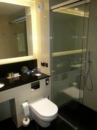 DoubleTree by Hilton Hotel Zagreb: Baño