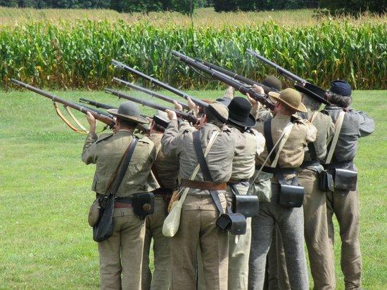 Antietam National Battlefield: Rifle Demo