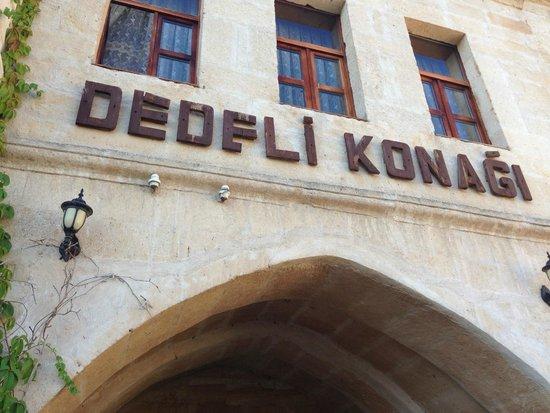 Dedeli Konak Cave Hotel: Hotel