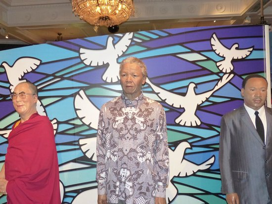 Madame Tussauds London: Nelson Mandela