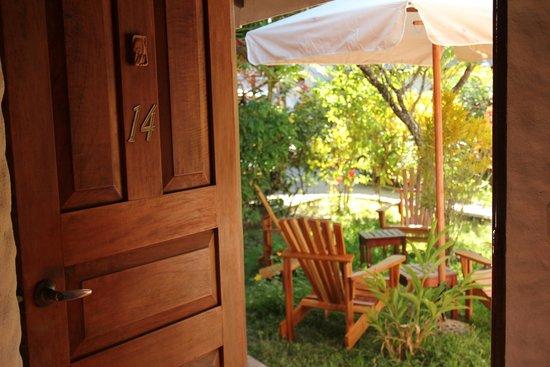Hotel Samara Pacific Lodge: Widok z pokoju