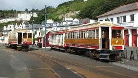 Manx Electric Railway: Douglas Tram Station