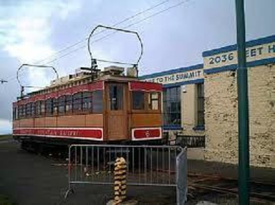 Manx Electric Railway: Top of Snaefell