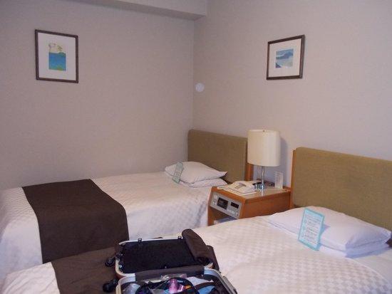 Keio Plaza Hotel Sapporo: 普通にツインですね