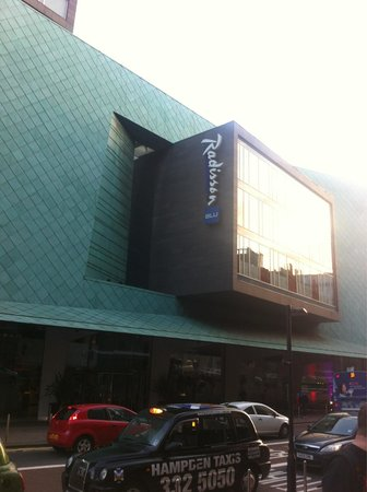Radisson Blu Hotel, Glasgow : Entrance