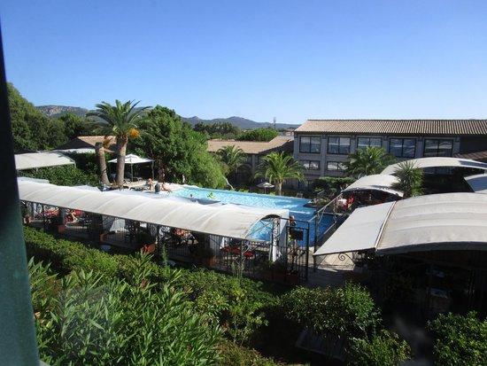 Hotel Le Roi Theodore - Relais du Silence : Panorama dalla camera