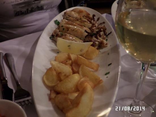 Gradina Grill: calamaretti alla griglia