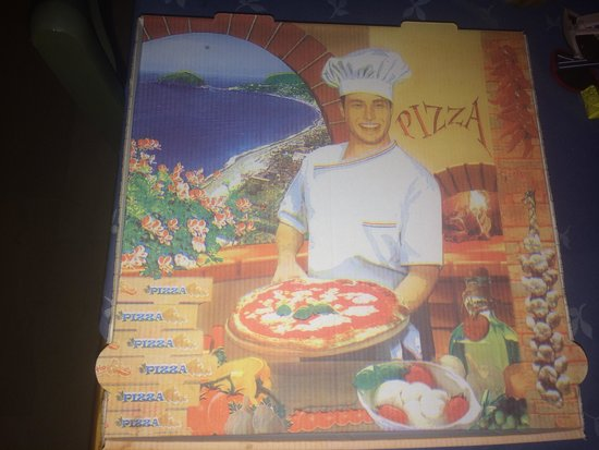 Pizzeria Napoli Restaurant : Unfinished pizza can go home with u in this...
