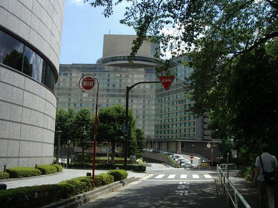 Hotel New Otani Tokyo The Main: 四ツ谷方面から歩きました