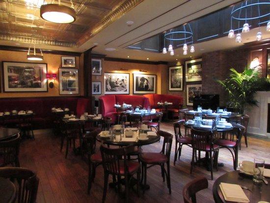 Walker Hotel Greenwich Village: Inside the Grape and Vine restaurant