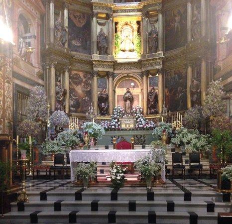Real Monasterio De Santa María De Guadalupe: Altar mayor