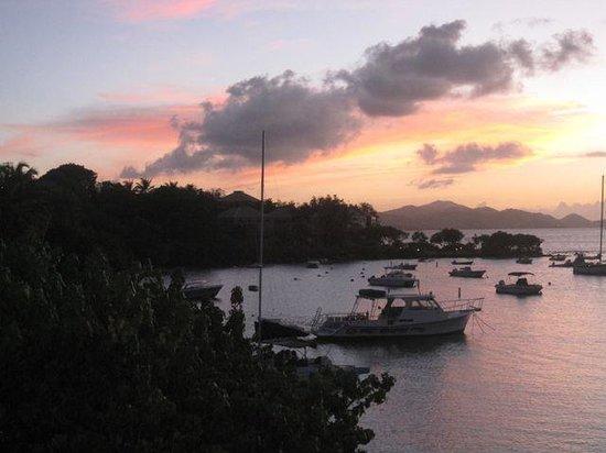 The Westin St. John Resort Villas: Sunset in Cruz Bay