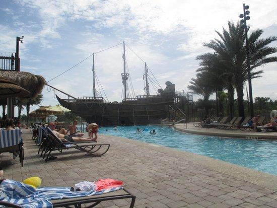 Lake Buena Vista Resort Village & Spa : Fantastic pool