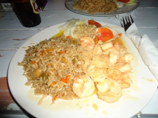 Babalu Bar and Grill: Shrimp in coconut sauce