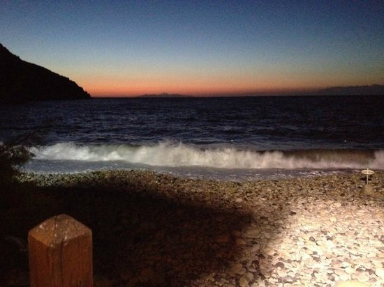 Capo Nord : tramonto