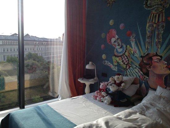 25hours Hotel beim MuseumsQuartier: bed