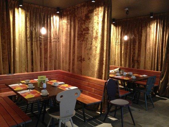 25hours Hotel beim MuseumsQuartier: 1500 cafe and restuarant