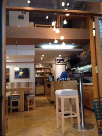 Cafe Taf: The entrance