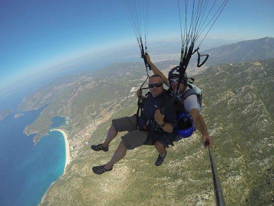 Oludeniz, Turkey: View from above