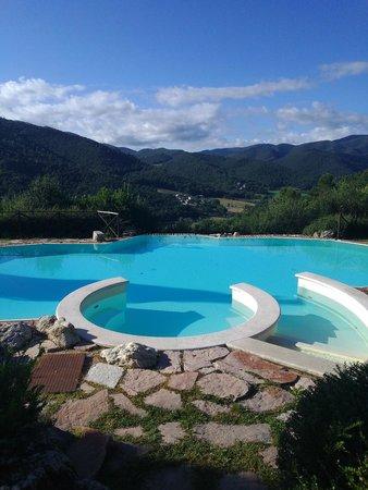 Villa Milani - Residenza d'epoca: vista dalla piscina