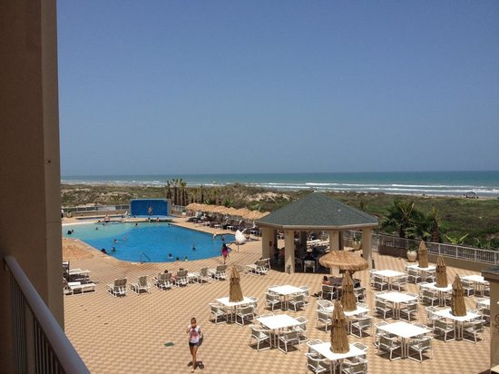 Hilton Garden Inn South Padre Island: View from room