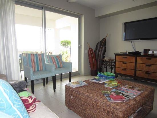 Le Vele Resort: Living room in 1 Bedroom Suite