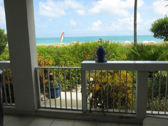 Le Vele Resort: Our patio view